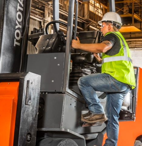 osha forklift safety training in California
