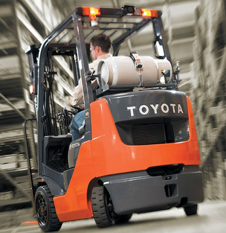 Toyota Forklift in Central California
