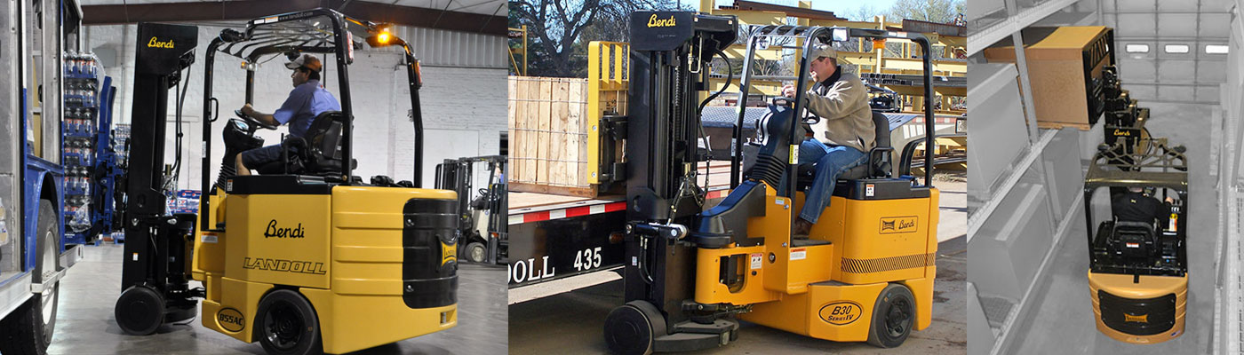 bendi narrow aisle forklift