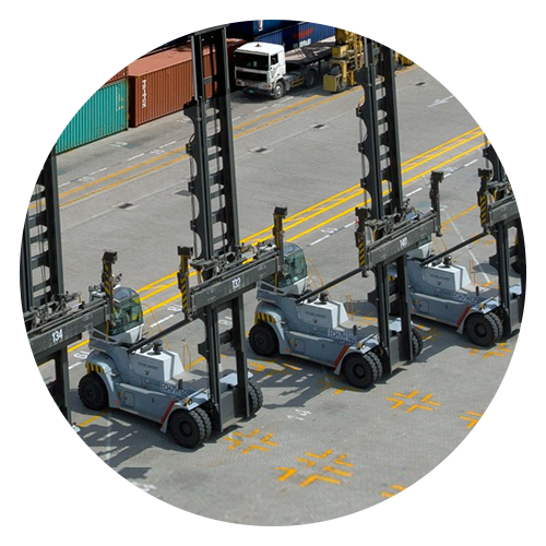 konecrane container lift trucks