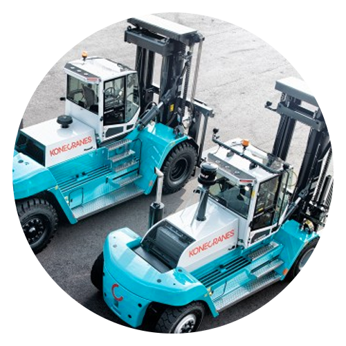 konecrane heavy duty forklifts