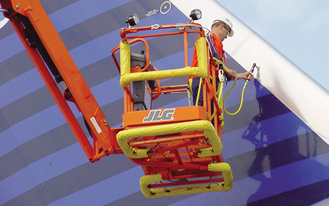 aviation maintenance aerial lift