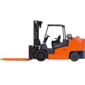 high capacity cushion forklift