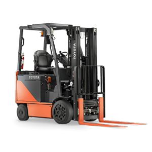 toyota mid electric forklift