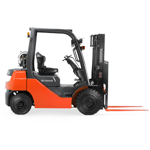 core pneumatic forklift